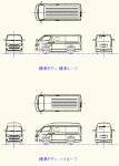 ハイエース4型 標準ボディ 点景・計画用 DXF