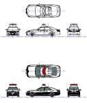 パトカー クラウンロイヤル14代目(幻?) MPZ