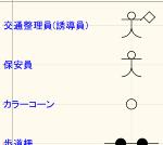 交通規制図作成用記号 MPZ
