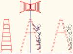 脚立 8尺 DXF