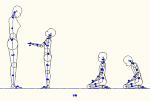 人物モデル化 (子供側面) DXF