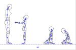 人物モデル化 (子供側面)  JWW