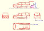 ヴォクシー 2019年式ZS(車いす仕様車スロープタイプ)DXF