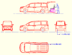 ヴォクシー 2019年式V (車いす仕様車スロープタイプ)DXF