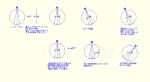 DRA-CAD 勾配文字記入で角度付方位図形(お遊び) mpz
