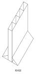 三角スケール立て DXF