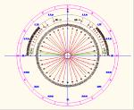 方位角 勾配分度器 JWW