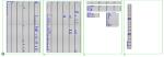 ショートカットキーのキーボード割付一覧表枠改  DXF