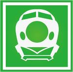 東北新幹線の駅のサイン