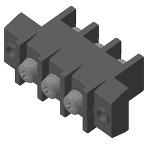 オサダ 貫通端子台 OTB-3013-3P-M5