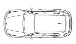 車のフリーCADデータ