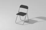 折りたたみパイプ椅子/Vectorworks 3Dフリー素材