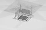 天井カセット形室内機/Vectorworks 3Dフリー素材