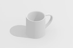 マグカップ/Vectorworks 3Dフリー素材