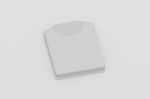 折り畳みTシャツ/Vectorworks 3Dフリー素材