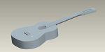 クラシックギター 3D