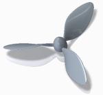 飛行機のプロペラ(50cm)