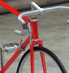 自転車のブレーキレバー 3Dデータ