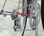 自転車側面図 2D