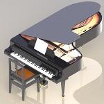 グランドピアノ(DXF)