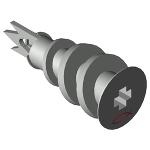 あと施工アンカー フィッシャー 石膏ボード用アンカー GKM