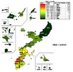 沖縄県の人口密度