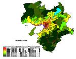 近畿の人口密度