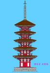 室生寺の五重塔(観賞用)
