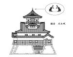 犬山城(曲線の修正)