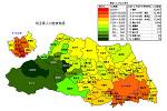 埼玉県の人口密度