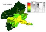群馬県の人口密度