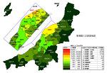 新潟県の人口密度