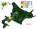 北海道の人口密度