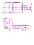UD 3軸トラクタヘッド