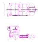 いすゞ トラクターヘッド 2軸