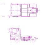 UD トラクターヘッド 2軸