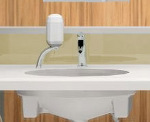 三栄水栓石けん水容器