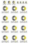 Smartロゴ(3D的に)