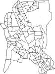 神奈川県綾瀬市の字界