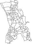 千葉県流山市の字界
