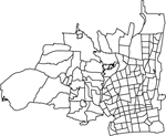 神奈川県平塚市の字界