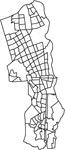 神奈川県大和市の字界
