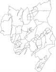 千葉県四街道市の字界