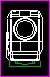 ドラム式 洗濯機 正面図