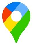 グーグルマップのマーク