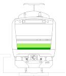 横浜線(正面と側面)