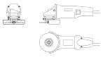 ディスクグラインダー(RYOBI G-1010H)