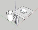 PC鋼線用グリップとグラウト穴付きアンカープレート