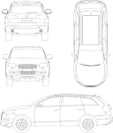 Audi_Q74>車>CADデータ