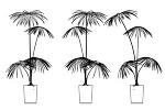 観葉植物 CADデータ
